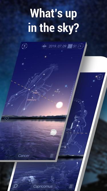 تصاویر Star Walk 2 - Night Sky Map