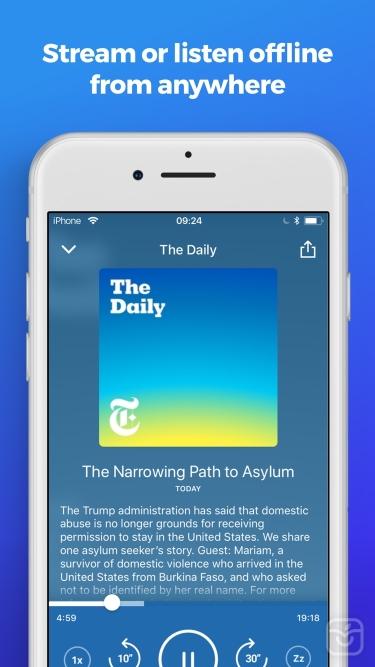 تصاویر The Podcast App