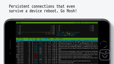 تصاویر Blink Shell: Mosh & SSH Client
