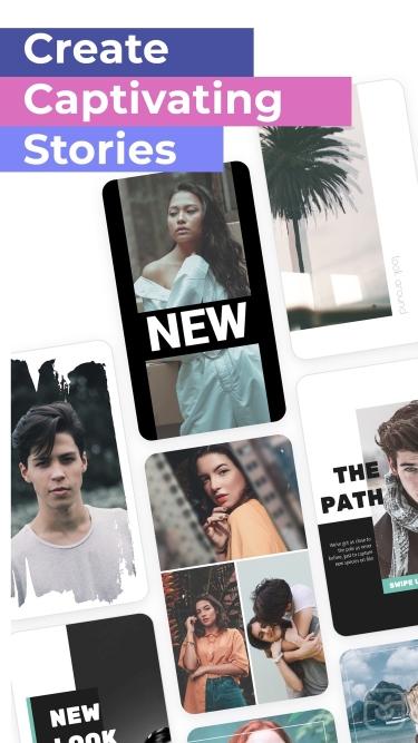 تصاویر  ++ Dazzle - Insta stories editor