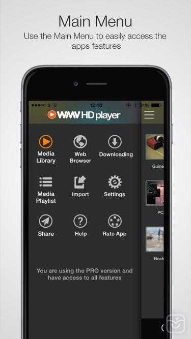 تصاویر WMV HD Player & Importer