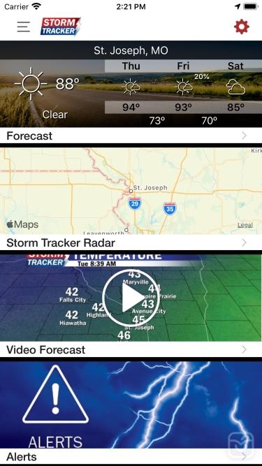 تصاویر Storm Tracker NOW