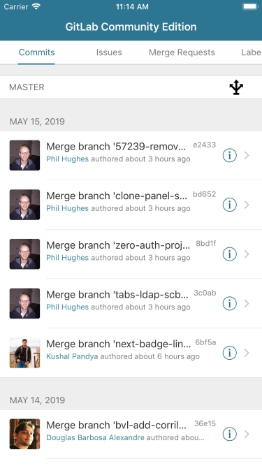 تصاویر GitLab Control
