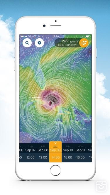 تصاویر Ventusky: Weather Maps