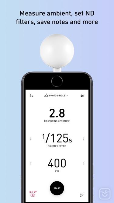 تصاویر Lumu Light Meter