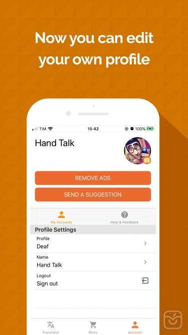 تصاویر Hand Talk