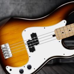 لوگو REAL BASS Electric bass guitar