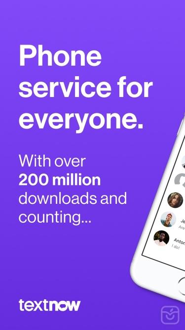 تصاویر TextNow: Call + Text Unlimited
