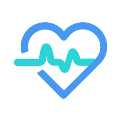 لوگو heart rate monitor ·