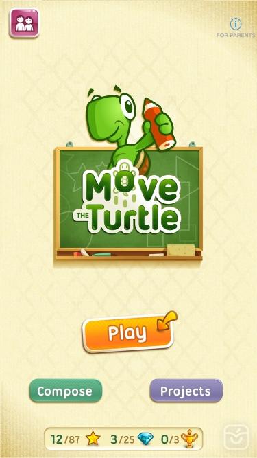 تصاویر Move the Turtle. Learn to code