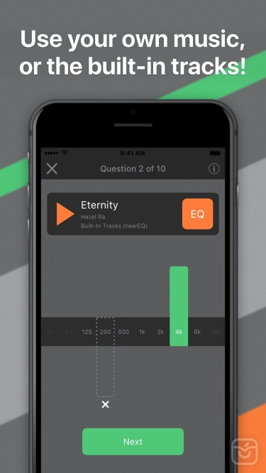 تصاویر hearEQ: Ear training for EQ