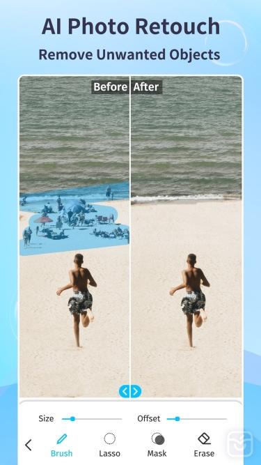 تصاویر EnhanceFox Photo Enhancer