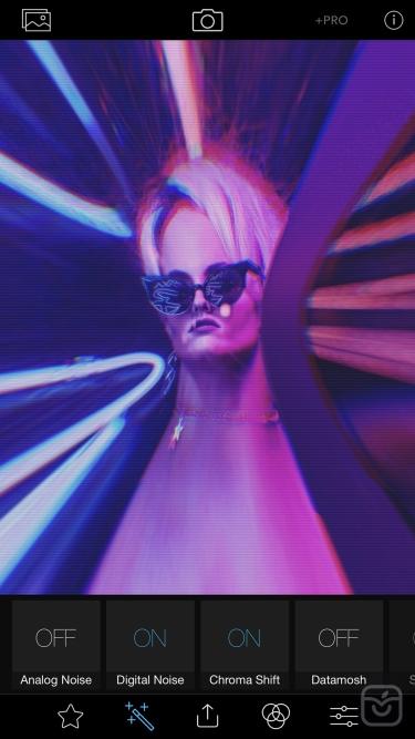 تصاویر Glitch Art Studio: Cam Effects