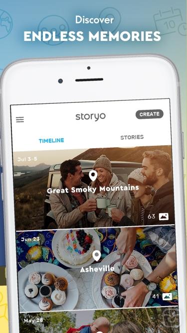 تصاویر Storyo: Clever video journals