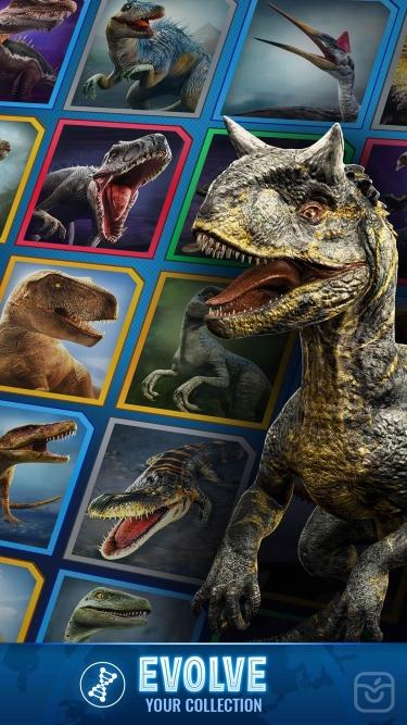 تصاویر Jurassic World Alive
