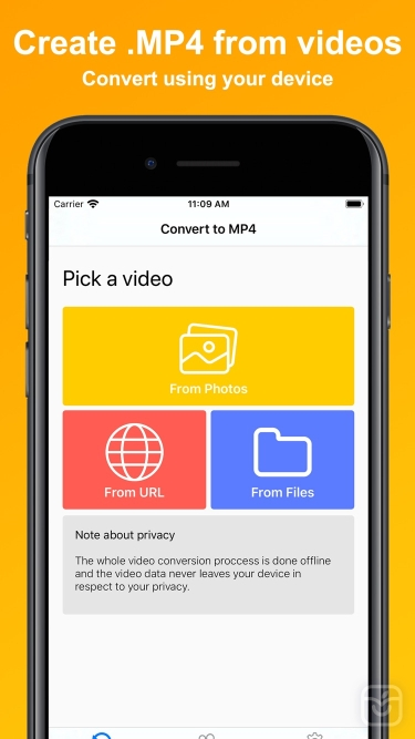 تصاویر MP4 Maker - Convert to MP4