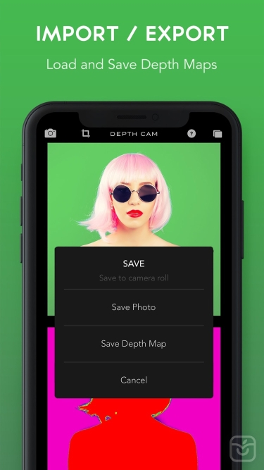 تصاویر Depth Cam - Depth Editor