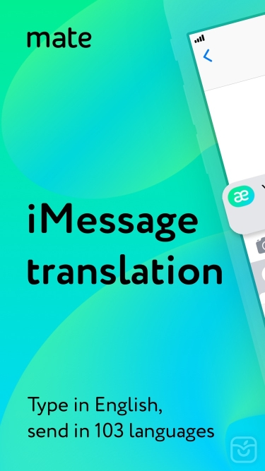تصاویر Mate – translate speech & text