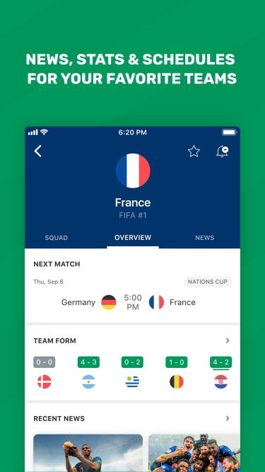تصاویر FotMob Live Soccer Scores