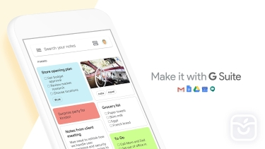 تصاویر Google Keep - Notes and lists