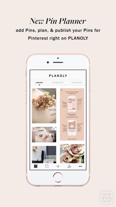 تصاویر PLANOLY: Plan, Schedule, Post