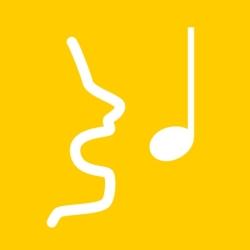 لوگو SingTrue: Learn to sing in tune, pitch perfect