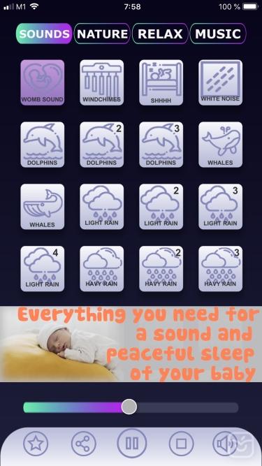 تصاویر Calm Baby Sleep Sounds