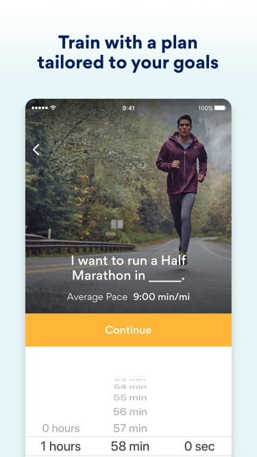 تصاویر Runkeeper—GPS Running Tracker