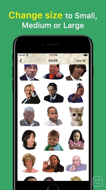 تصاویر ChatStickerz™ Emoji Stickers