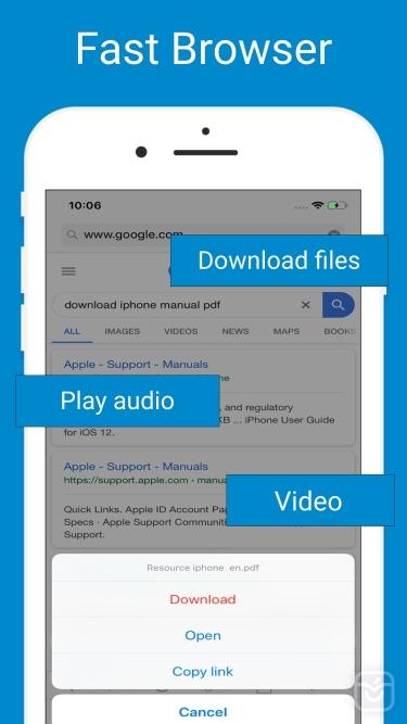 تصاویر Browser & Offline File Storage