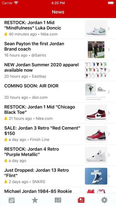 تصاویر J23 - Release Dates & Restocks