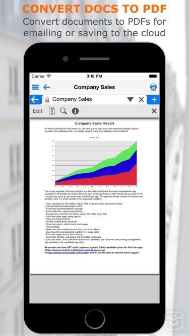 تصاویر PrintCentral Pro for iPhone