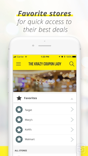 تصاویر Krazy Coupon Lady: Shop Deals