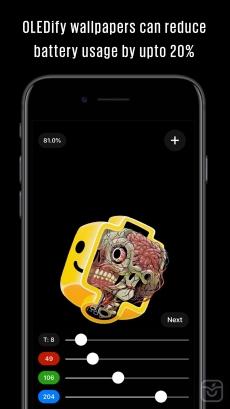 OLEDify Pure Black Wallpapers
