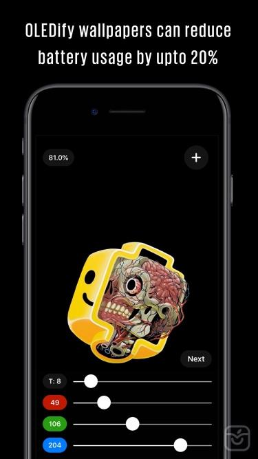 تصاویر OLEDify Pure Black Wallpapers