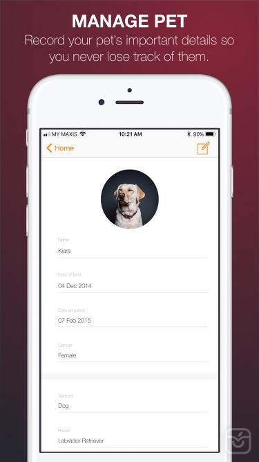 تصاویر Furiend - Pet Health Tracker