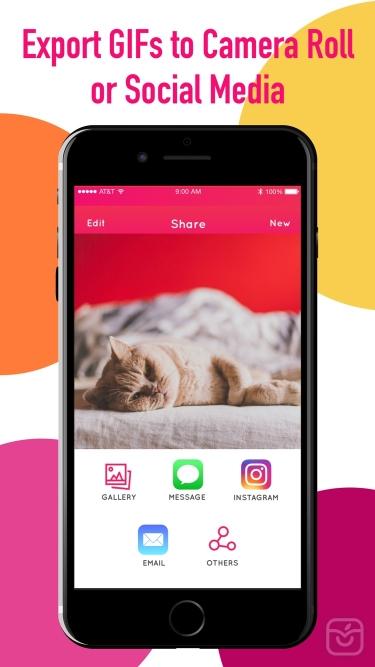 تصاویر GifLab - GIF Maker & Editor