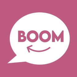 لوگو Boomdia Social Video Chat