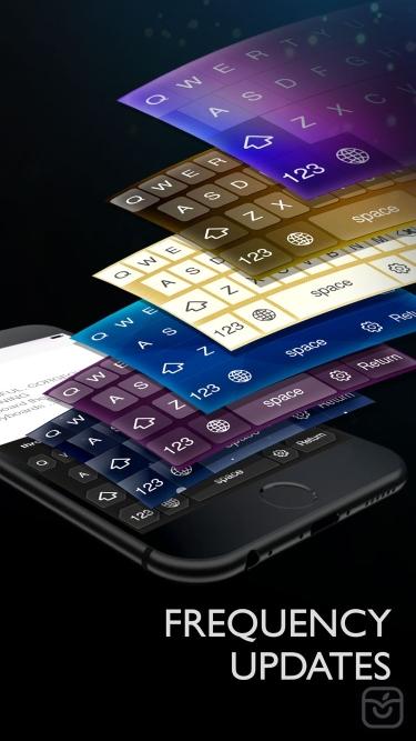 تصاویر Keyboard - Color keyboard themes