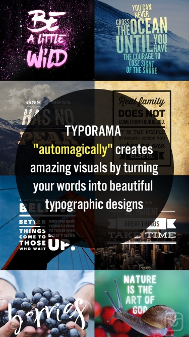 تصاویر Typorama: Text on Photo Editor