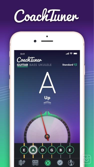 تصاویر Guitar Tuner Easy tune chords