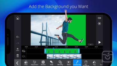 تصاویر PowerDirector Video Editor App