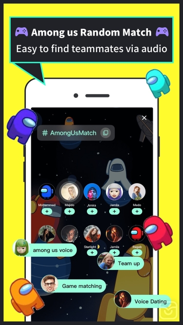 تصاویر Tiya - Voice Chat & Match