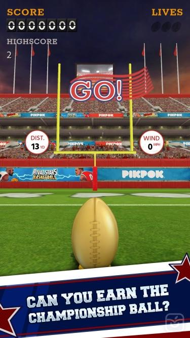 تصاویر Flick Kick Field Goal