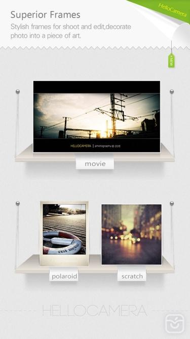 تصاویر Camera360 Concept - HelloCamera