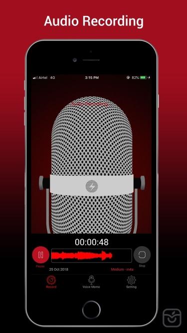 تصاویر Voice Recorder HD Pro