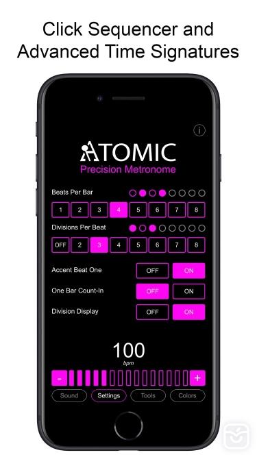 تصاویر Atomic - Precision Metronome