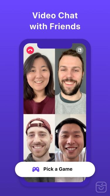 تصاویر Bunch Group Video Chat & Games
