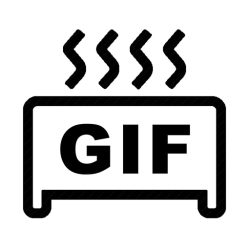 لوگو GIF Toaster - GIF Maker