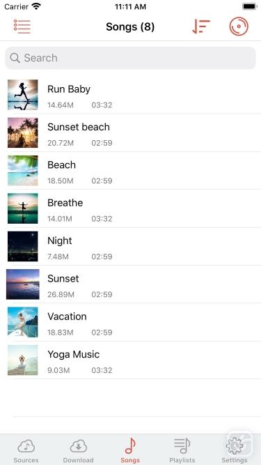 تصاویر Cloud Music Player - Listener